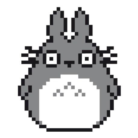 totoro pixel