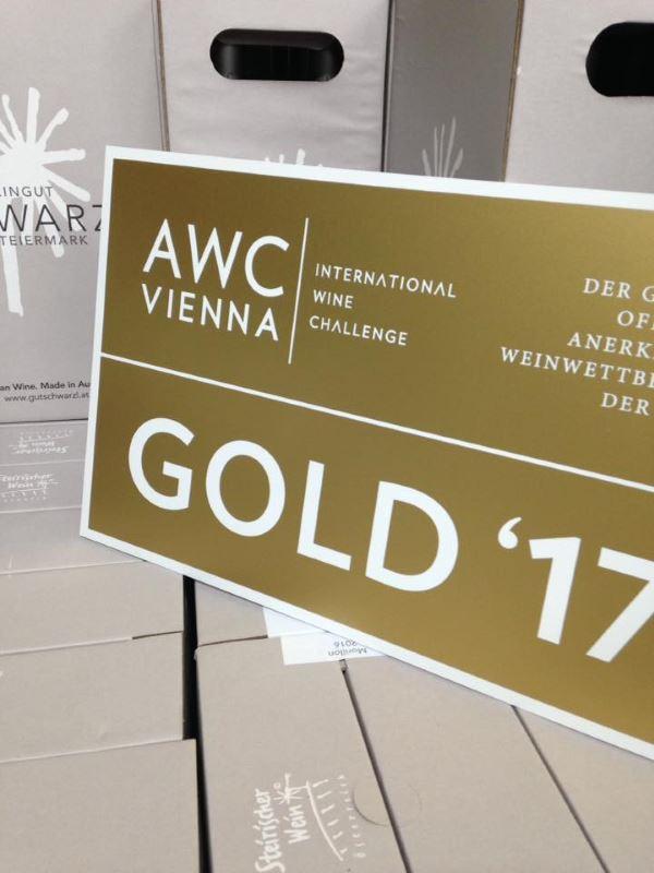AWC-Vienna-2017 - Gold für Weingut Schwarzl