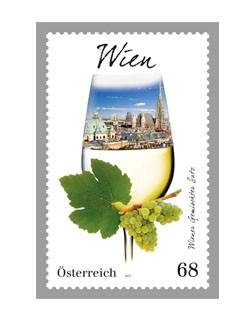 Sonderbriefmarke Wiener Gemischter Satz