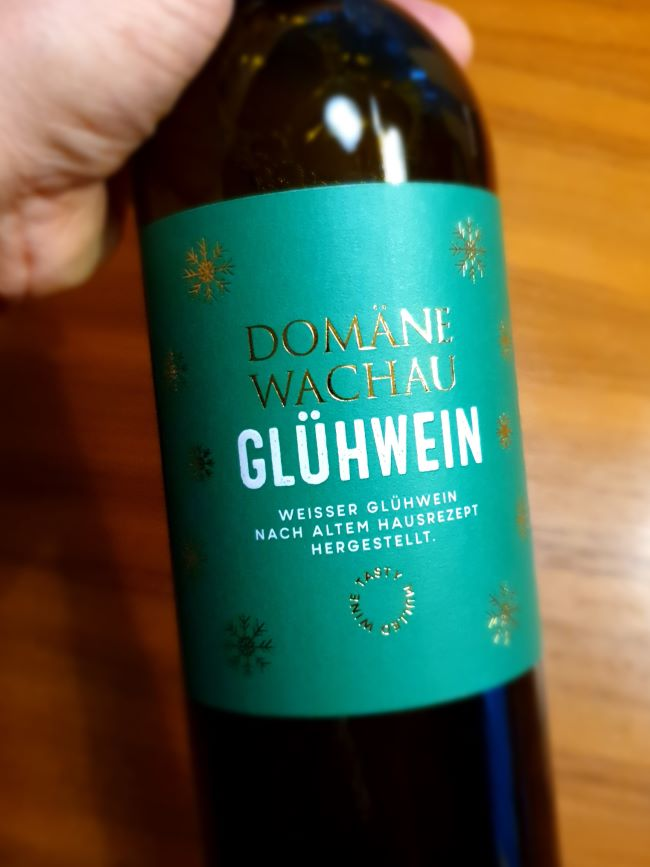 Weißer Glühwein Domäne Wachau