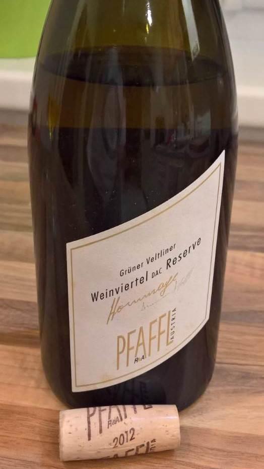 Weingut Pfaffl - Grüner Veltliner Weinviertel DAC Reserve Hommage 2012