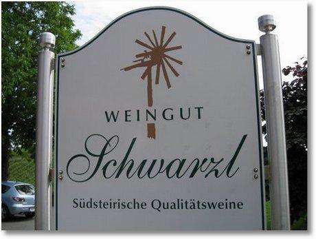 Weingut Schwarzl Südsteiermark Weisswein