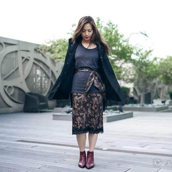 UNIQLO x Carine Roitfeld Silk Camisole Dress