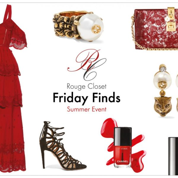 RC friday finds - Summer Event in Red 紅色的仲夏宴會