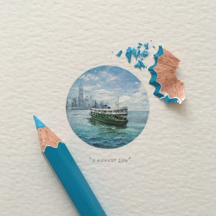 Star Ferry Painting From Lorraine Loots