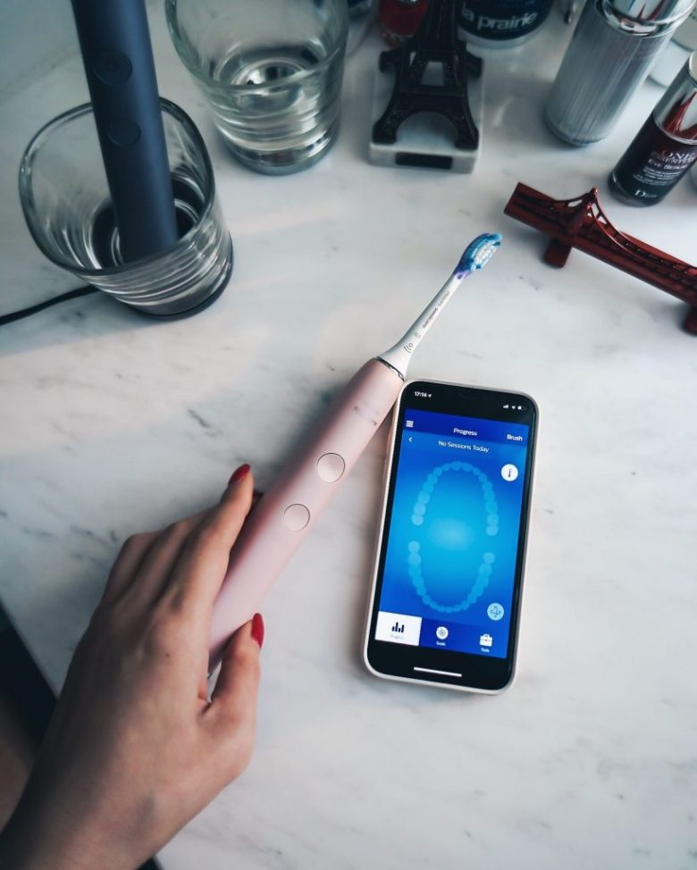 Philips Sonicare with the mobile apps