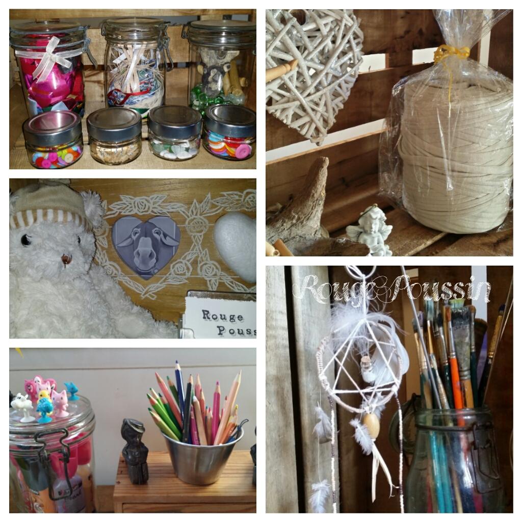 Mise en scène de certains objets dans l'atelier