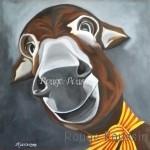 Peinture acrylique de Carole Alexandre sur Toile 60x60