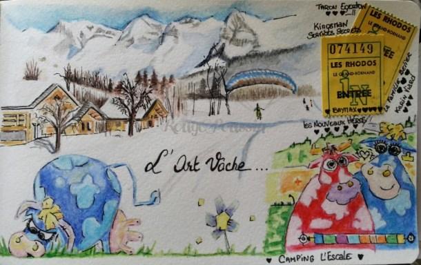 """Suite de mon carnet de vacances sur """"Le Grand Bornand"""""""