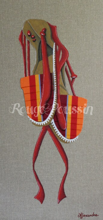 Vigatane Orange : Tableau de Carole Alexandre