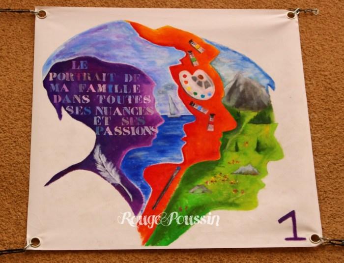 Numéro 1 : Toile de Carole Alexandre pour le concours de peinture Toulouges 2015