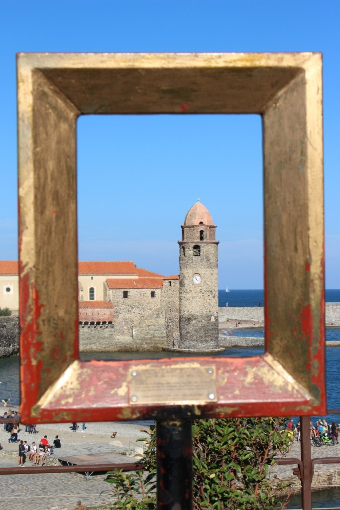 Le clocher de Collioure : photo prise du Château Royal