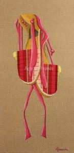 Vigatane Princesse : tableau créé pour Collioure