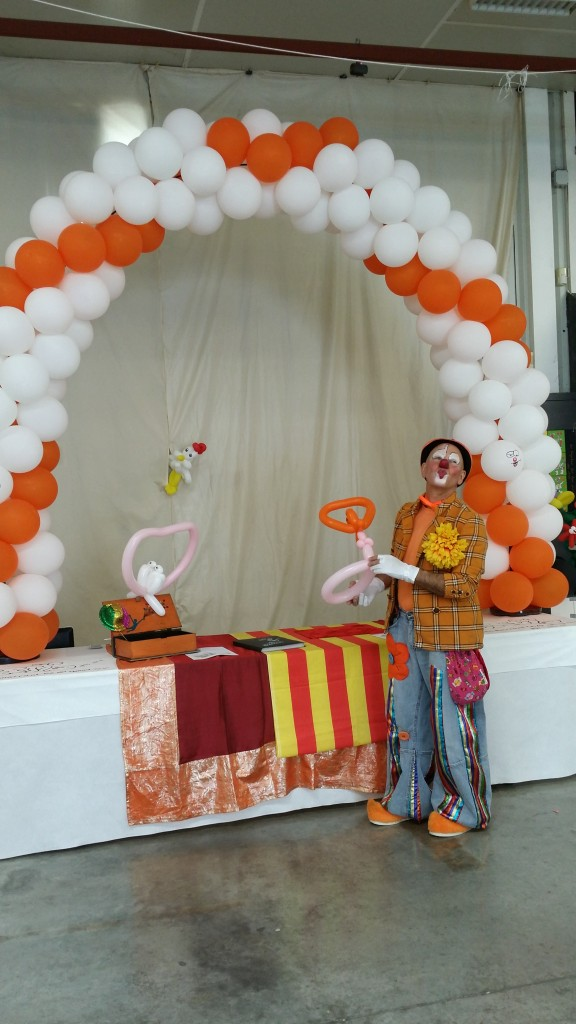 Au Printemps des Arts, rencontre du Clown Sergio