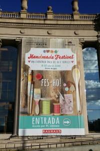 """Grande affiche """"Handmade Festival"""""""