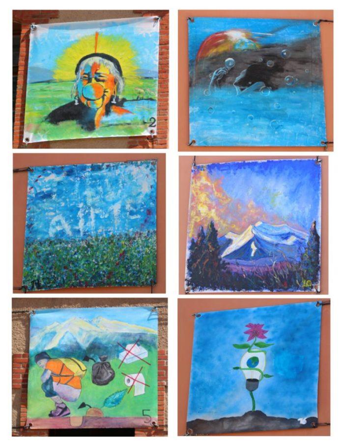 Tableaux concours peinture Toulouges 2016