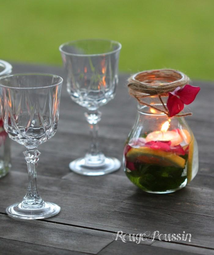 Des bougies flottantes pour décorer vos tables
