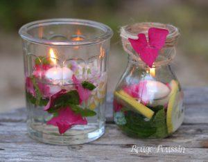 Bougies flottantes : de l'utile à l'agréable … !