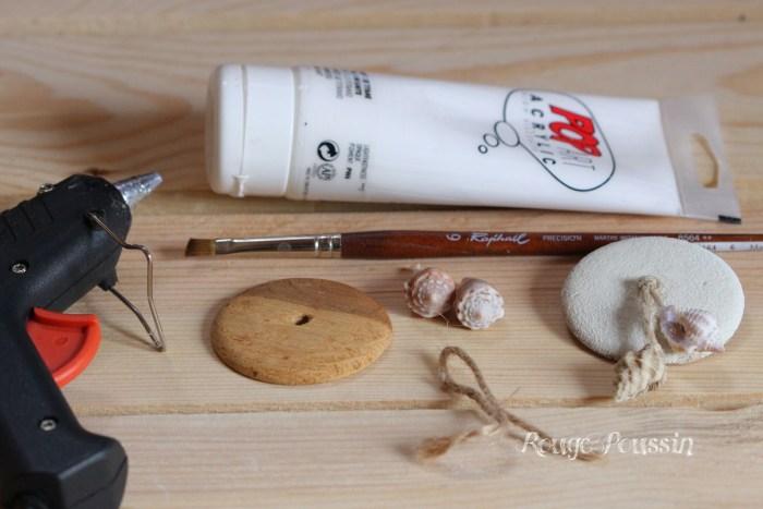 Décoration corbeille bi-matière