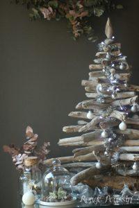 Sapin de noël en bois flotté encore cette année