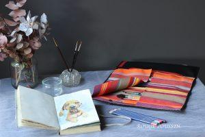Trousse à pinceaux : collection 2017