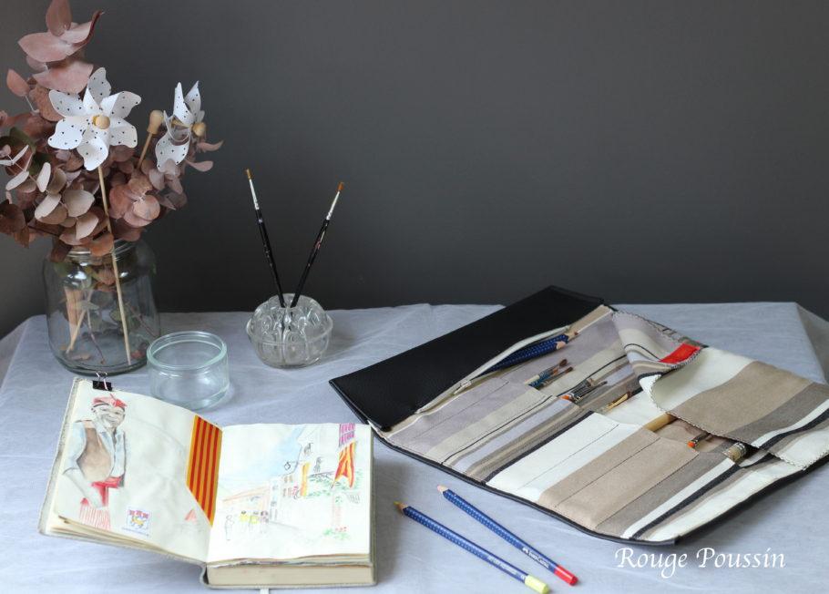 Trousse pinceaux