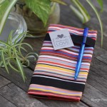 Porte-chéquier multicolore - Tissu les toiles du soleil