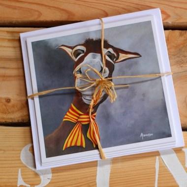Cartes postales représentant des ânes