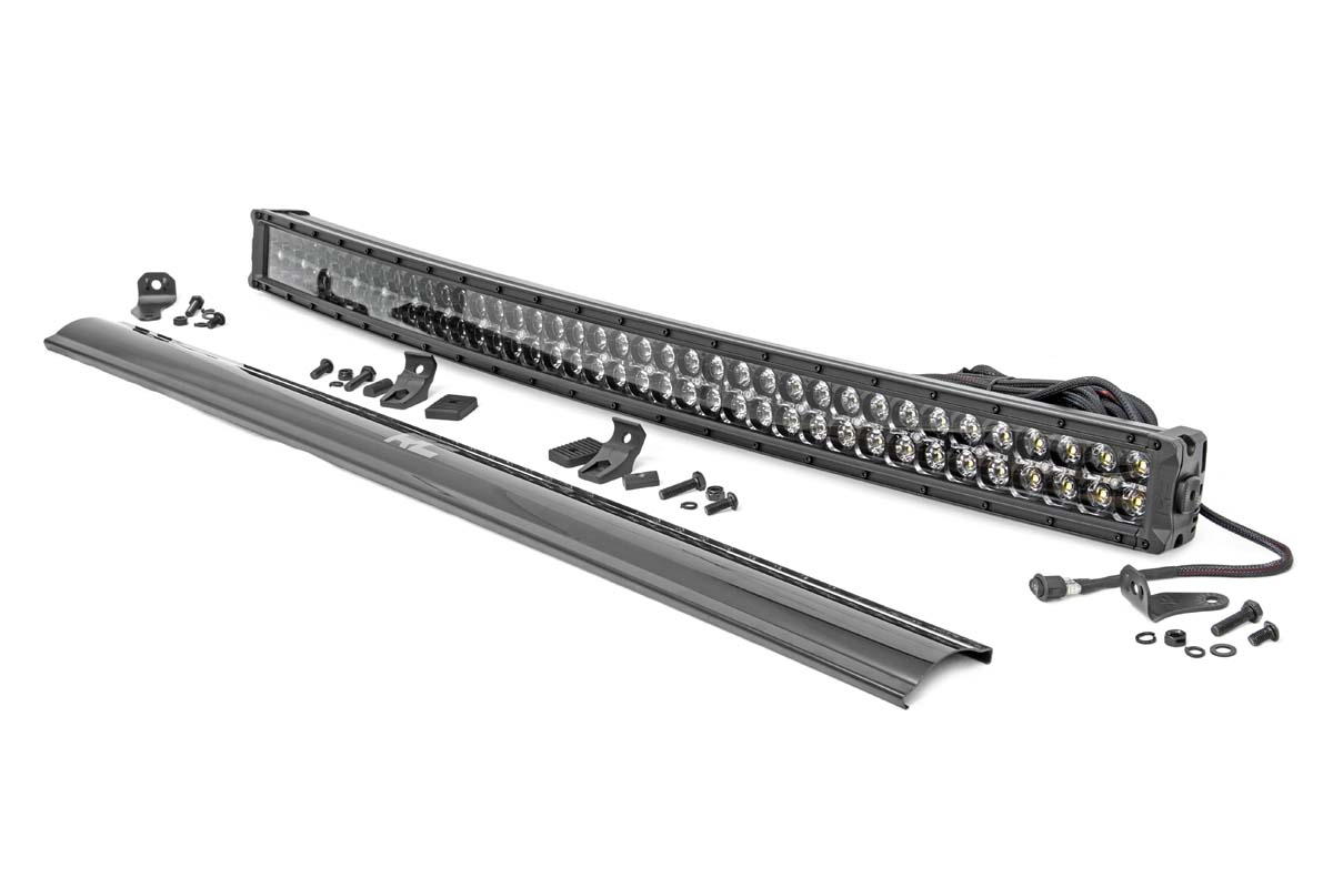 Rough Country 40 Curved Cree Led Light Bar Dual Row W