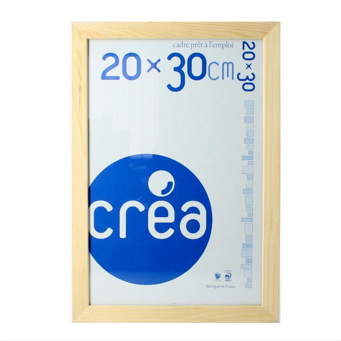 cadre gaelle 20 brut 50 x 65 cm