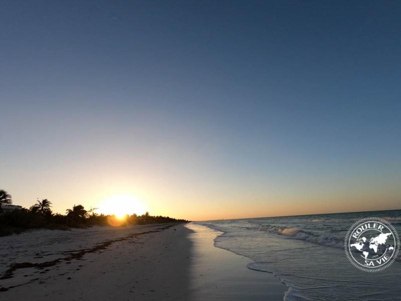 plage d'El Cuyo.