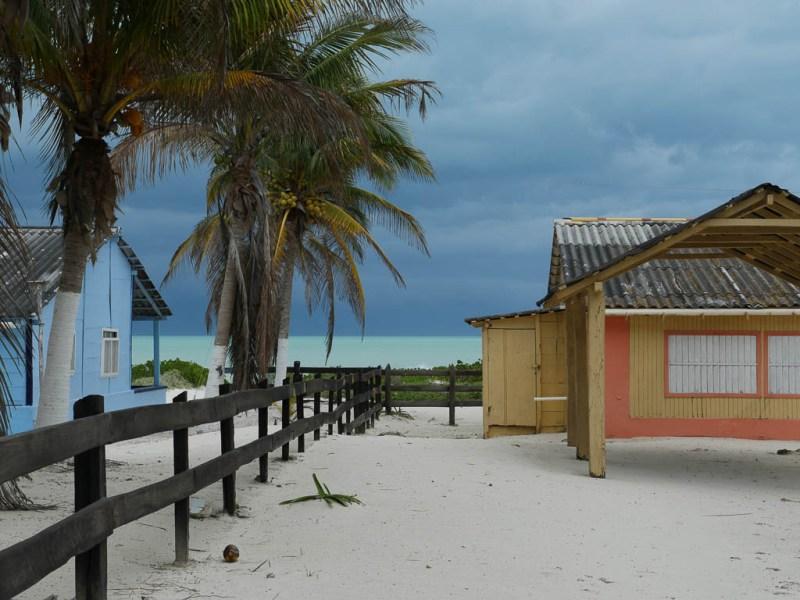 Maisons de plage El Cuyo.