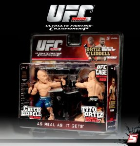 "Chuck ""The Iceman"" Liddell Vs Tito ""The Huntington Beach Bad Boy"" Ortiz UFC 47 UFC Versus Series 1"