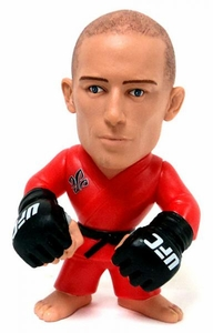 "George ""Rush"" St Pierre UFC Titans Series 1 Limited Edition with Red  Gi"