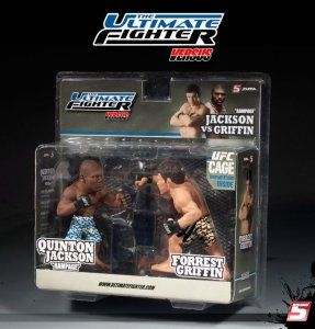 """Quinton """"Rampage"""" Jackson Vs Forrest Griffin The Ultimate Fighter 7 UFC Versus Series 1"""