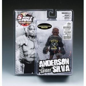 "Anderson ""The Spider"" Silva World Of MMA (WOMMA) Champions Series 2 Limited Edition WalkOutWear.com Exclusive"