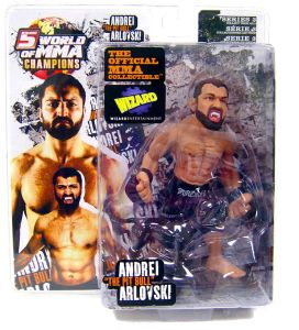 "Andrei ""The Pit Bull"" Arlovski World Of MMA (WOMMA) Champions Series 3 Limited Edition Wizard Exclusive"