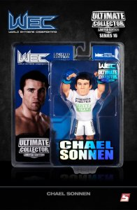 Chael Sonnen Ultimate Collector Series 10 Limited WEC 53 Edition