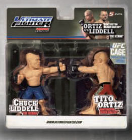 "Chuck ""The Iceman Liddell Vs Tito ""The Huntington Beach Bad Boy"" Ortiz UFC Versus Series 1 TUF Season 11 Variant  Edition"