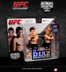 "Nate ""The Kid From Stockton"" & Nick ""The Stockton Bad Boy"" Diaz Brothers Ultimate Collector Series 9 Limited Edition 2-Pack"