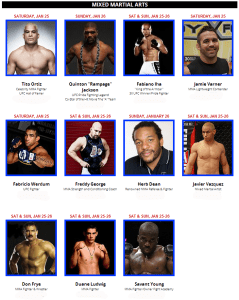 The FitExpo 2014 Southern California MMA Signings