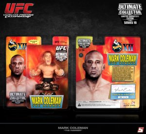 "Mark ""The Hammer"" Coleman Ultimate Collector Series 10 Limited UFC 12 Signature Edition"
