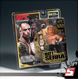 "Matt ""The Terra"" Serra Ultimate Collector Series 6 UFC 69 Championship Edition ."