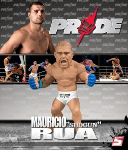 "Mauricio ""Shogun"" Rua Pride Edition Ultimate Collector Series 5  - Square Packaging"