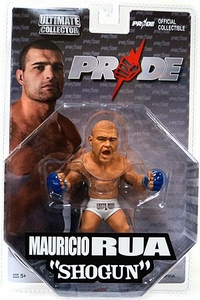 "Mauricio ""Shogun"" Rua Pride Edition Ultimate Collector Series 5 Octagon Packaging"