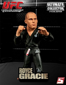 Royce Gracie Ultimate Collector Series 4 Limited Edition With Grey Gi