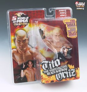 "Tito ""The Huntington Beach Bad Boy"" Ortiz World Of MMA (WOMMA) Champions Series 1"