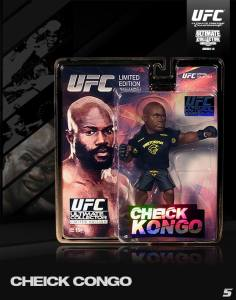 Cheick Kongo Ultimate Collector Series 14 Limited Edition