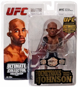 """Demetrious """"Mighty Mouse"""" Johnson Ultimate Collector Series 13.5 Limited Edition"""