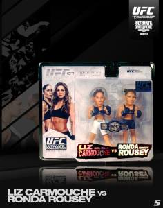 Liz Carmouche Vs Ronda Rousey Ultimate Collectoer Series 14 Limited Edition UFC 157 2-Pack